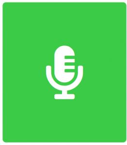 Green Interview Symbol