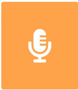 Interview Icon Orange