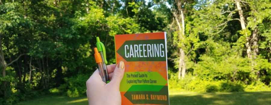 Careering Guide with two pens